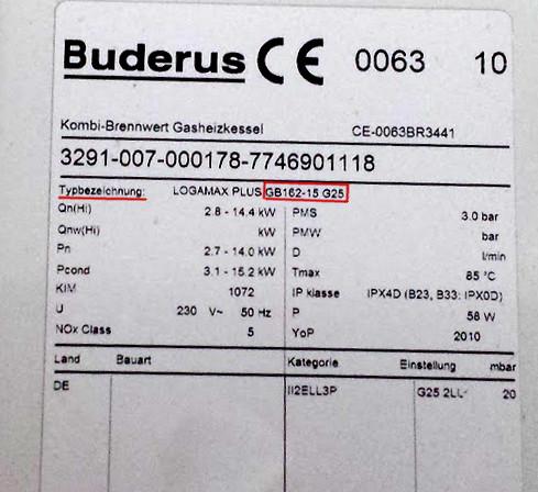 Hervorragend Buderus Fehlermeldung 6A 227 Ursache Beschreibung Prüfvorgang KU94
